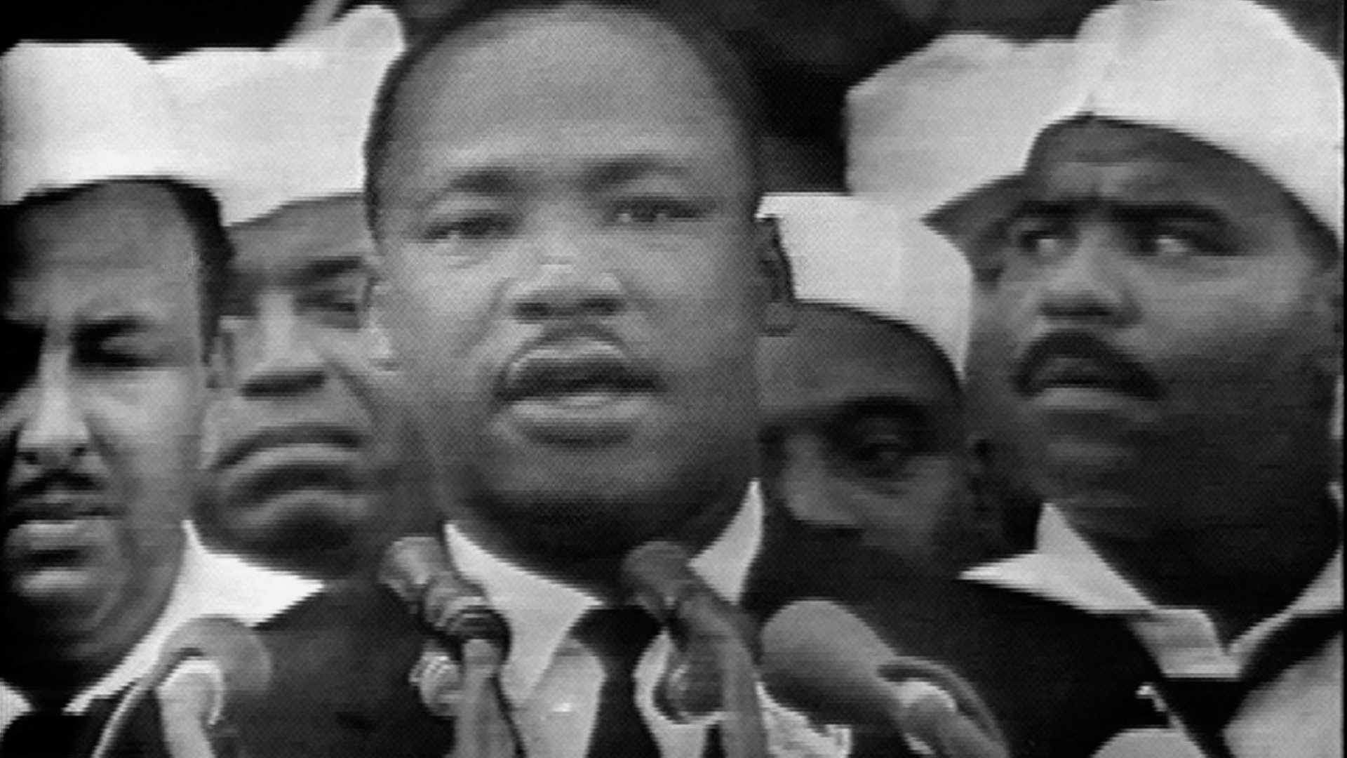 Martin Luther King Jr. speaking at the March on Washington for Jobs and Freedom in 1963.