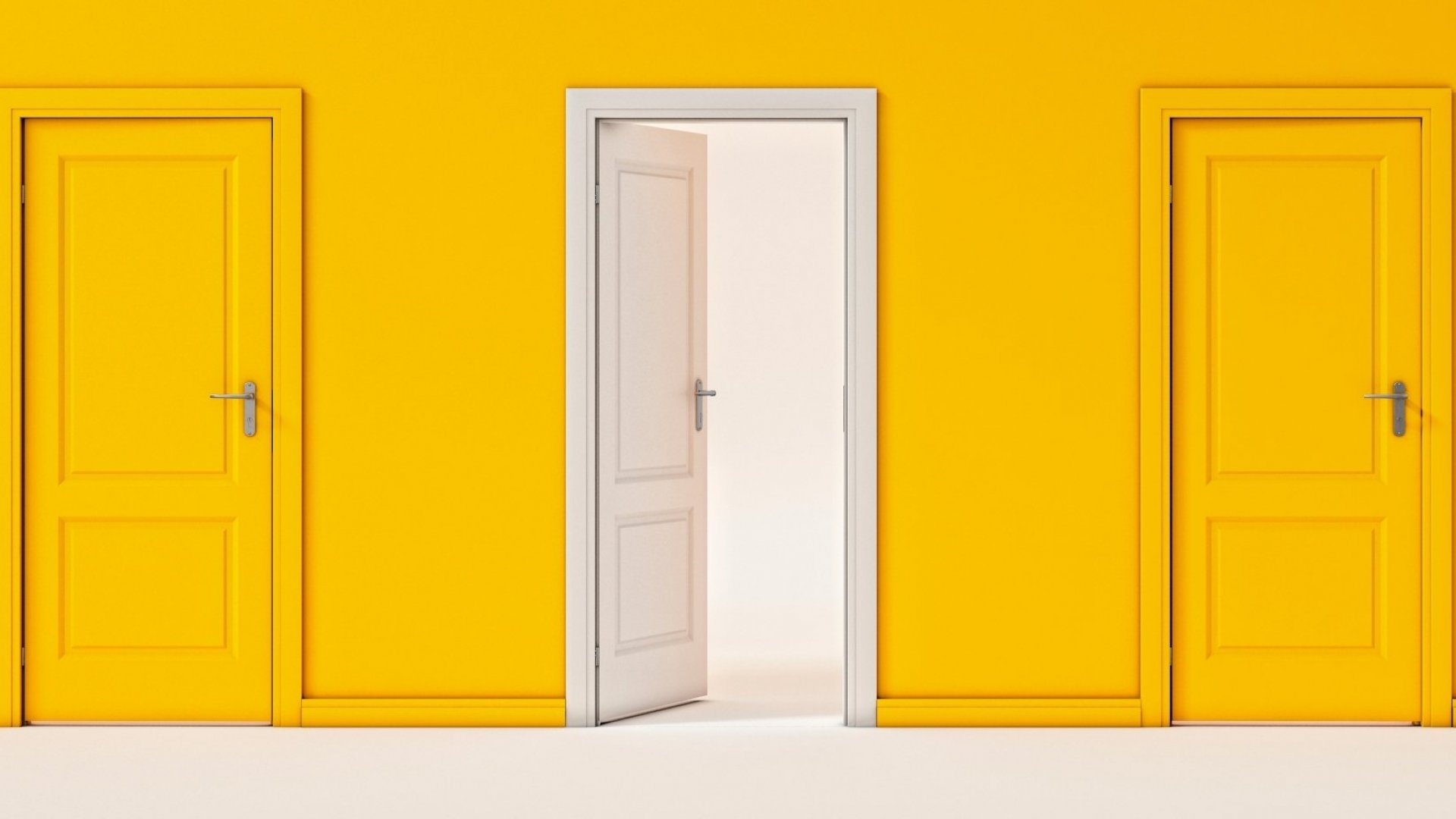 Closing Your Office Door Freaks People Out, According to Psychology. Here's Why