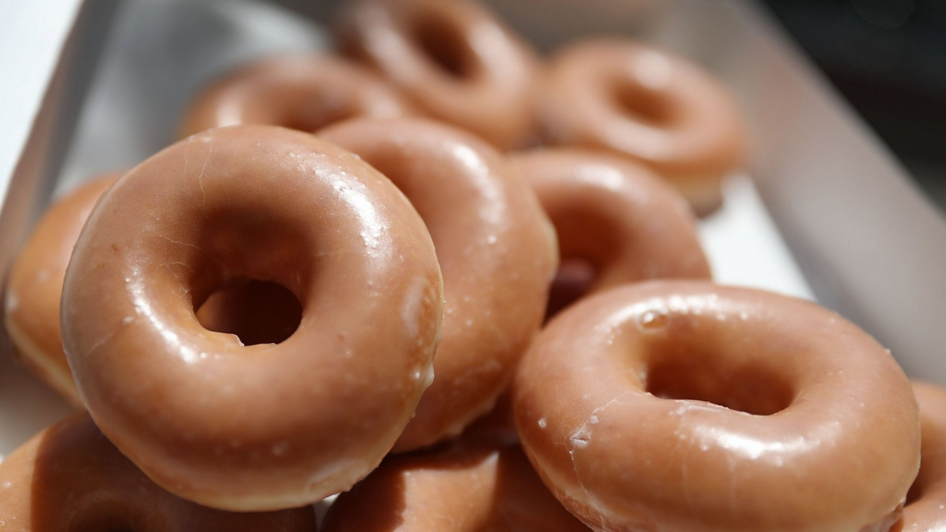Krispy Kreme Will Now Deliver Its Famous Doughnuts