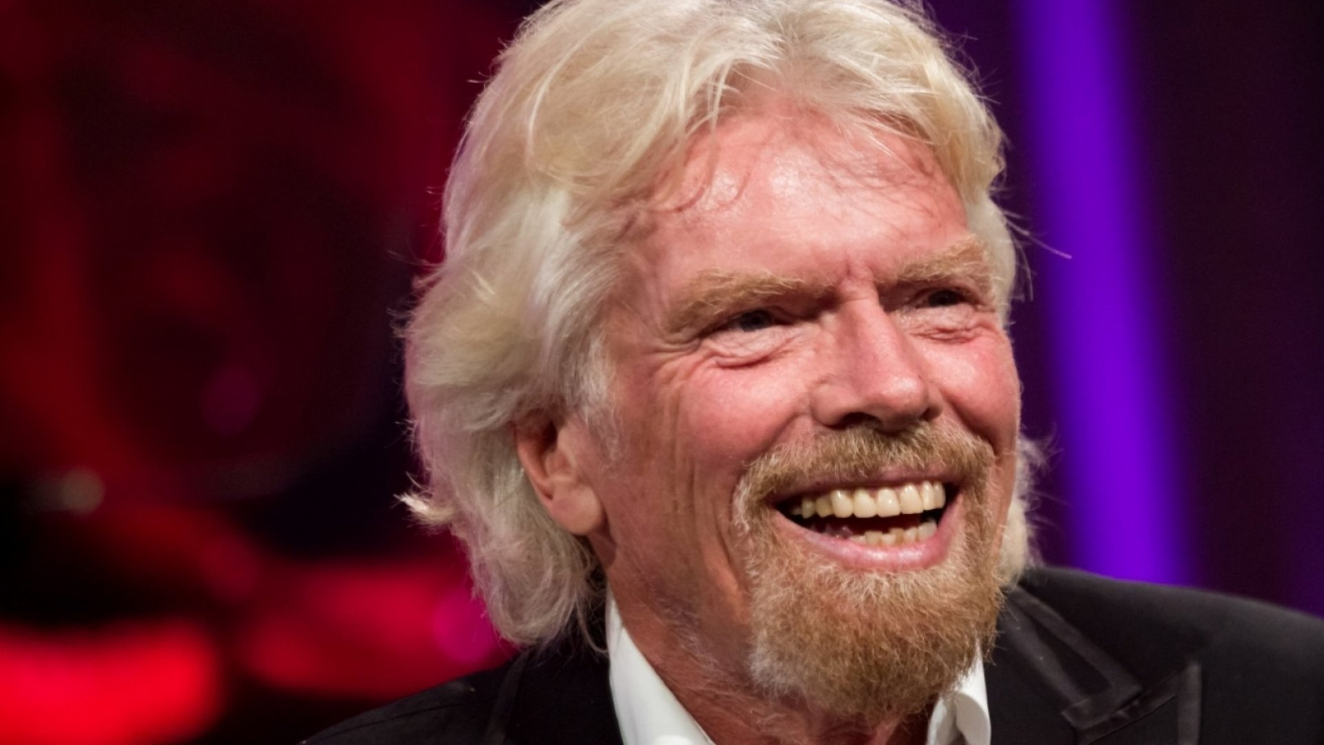 Sir Richard Branson shows his genuineness by being vulnerable and approachable.