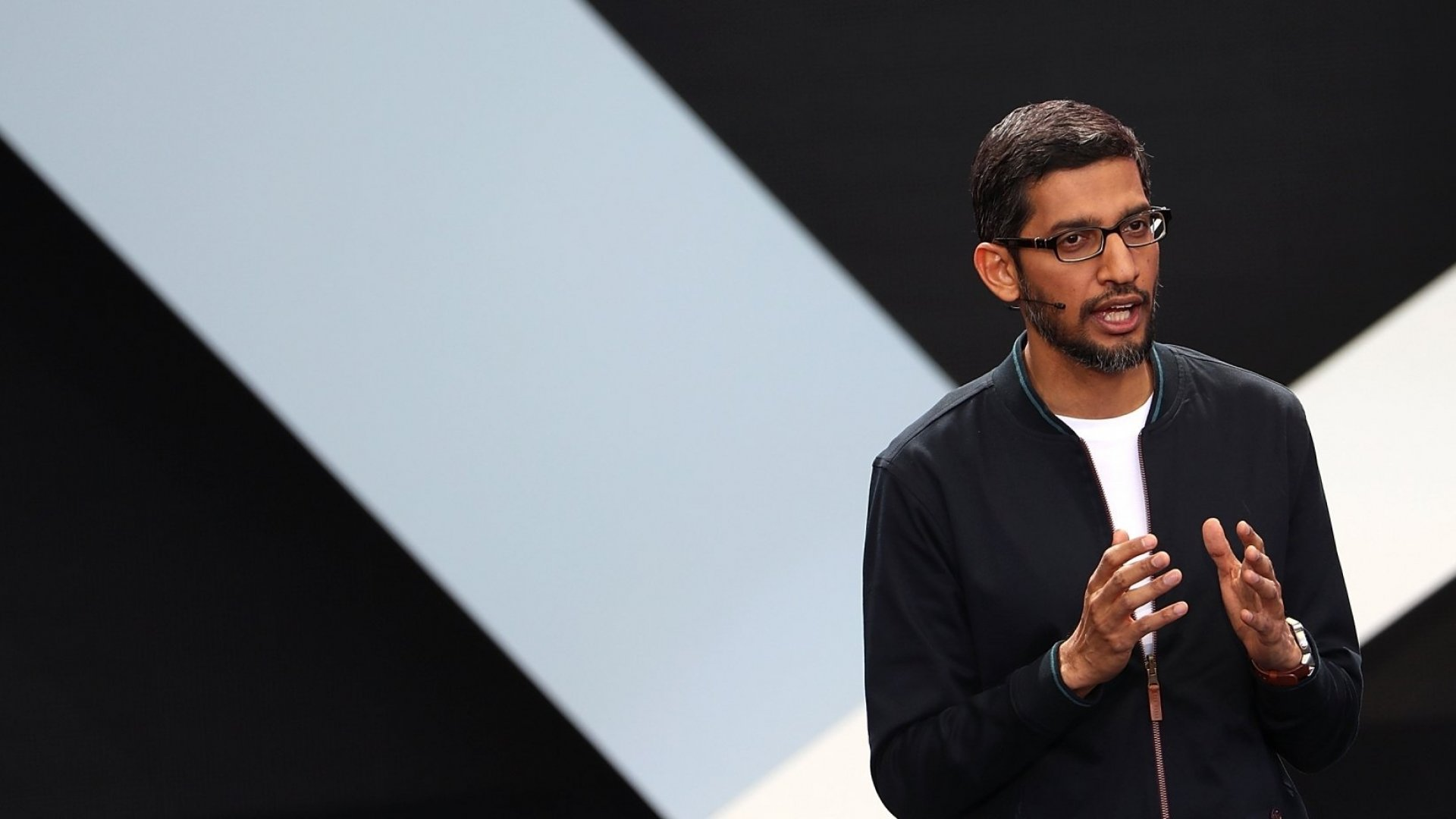 Google CEO Sundar Pichai discusses advances in Google's AI.