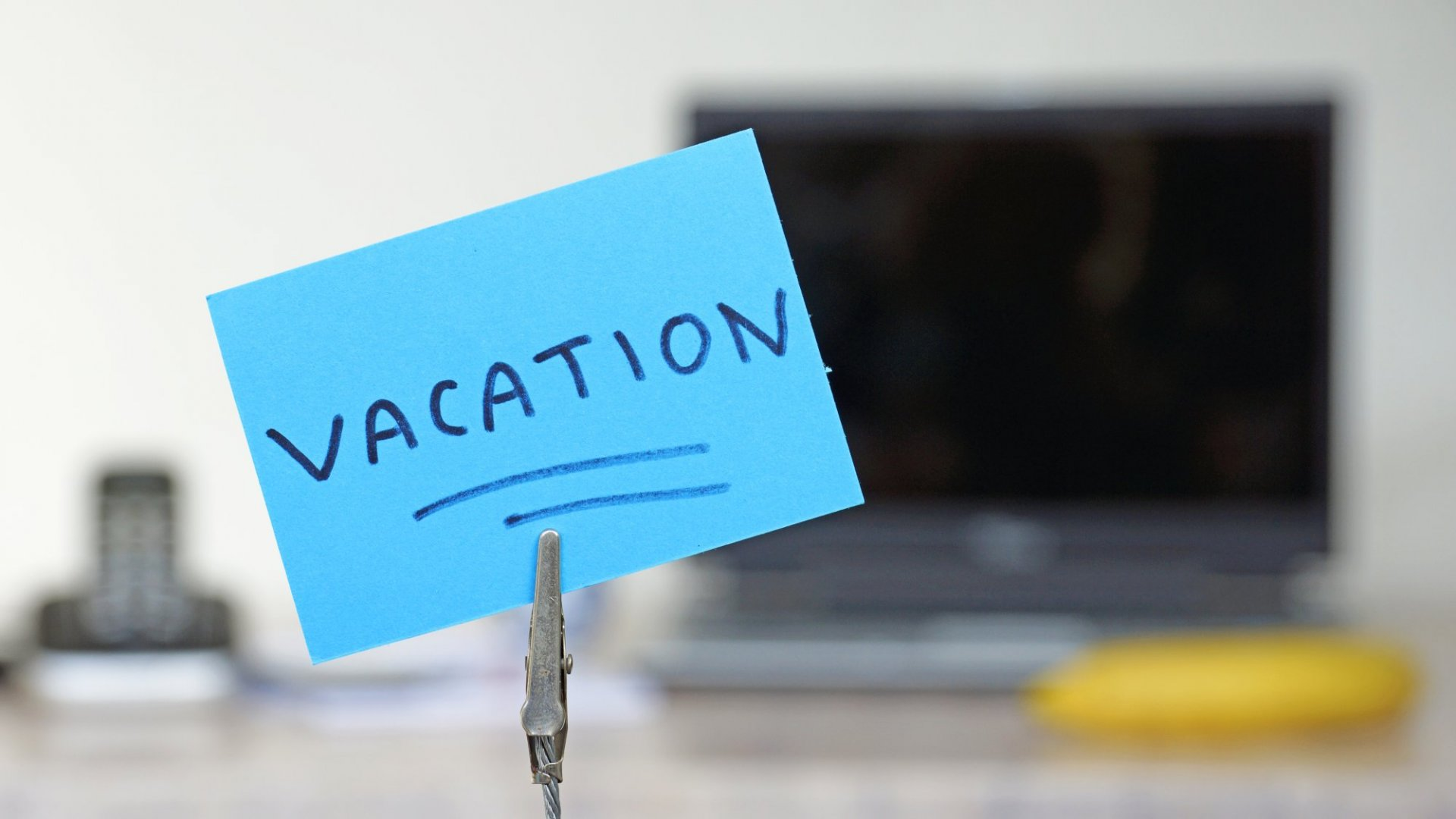 Here's Why You Shouldn't Feel Guilty About Needing a Vacation