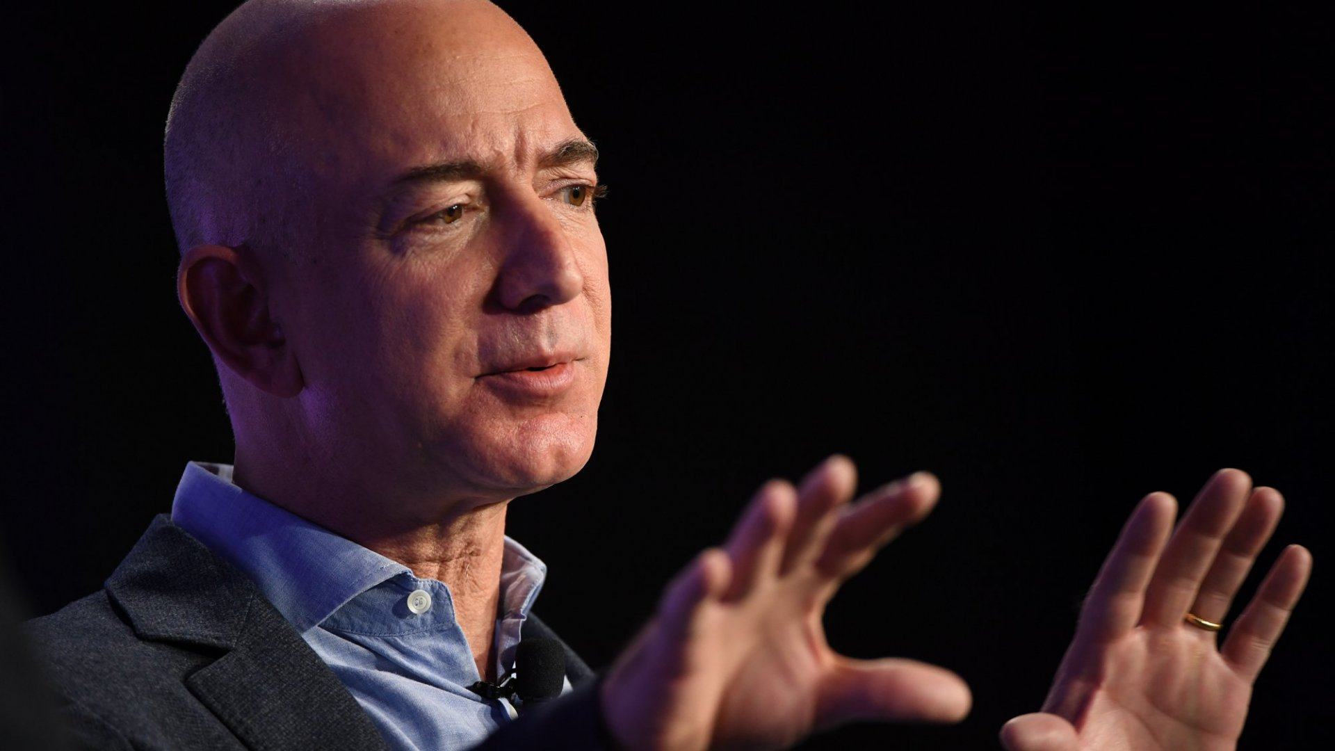 Bezos' 1st  Blue Origin Customer Lands With Big Lesson for Today's Most Ambitious Founders