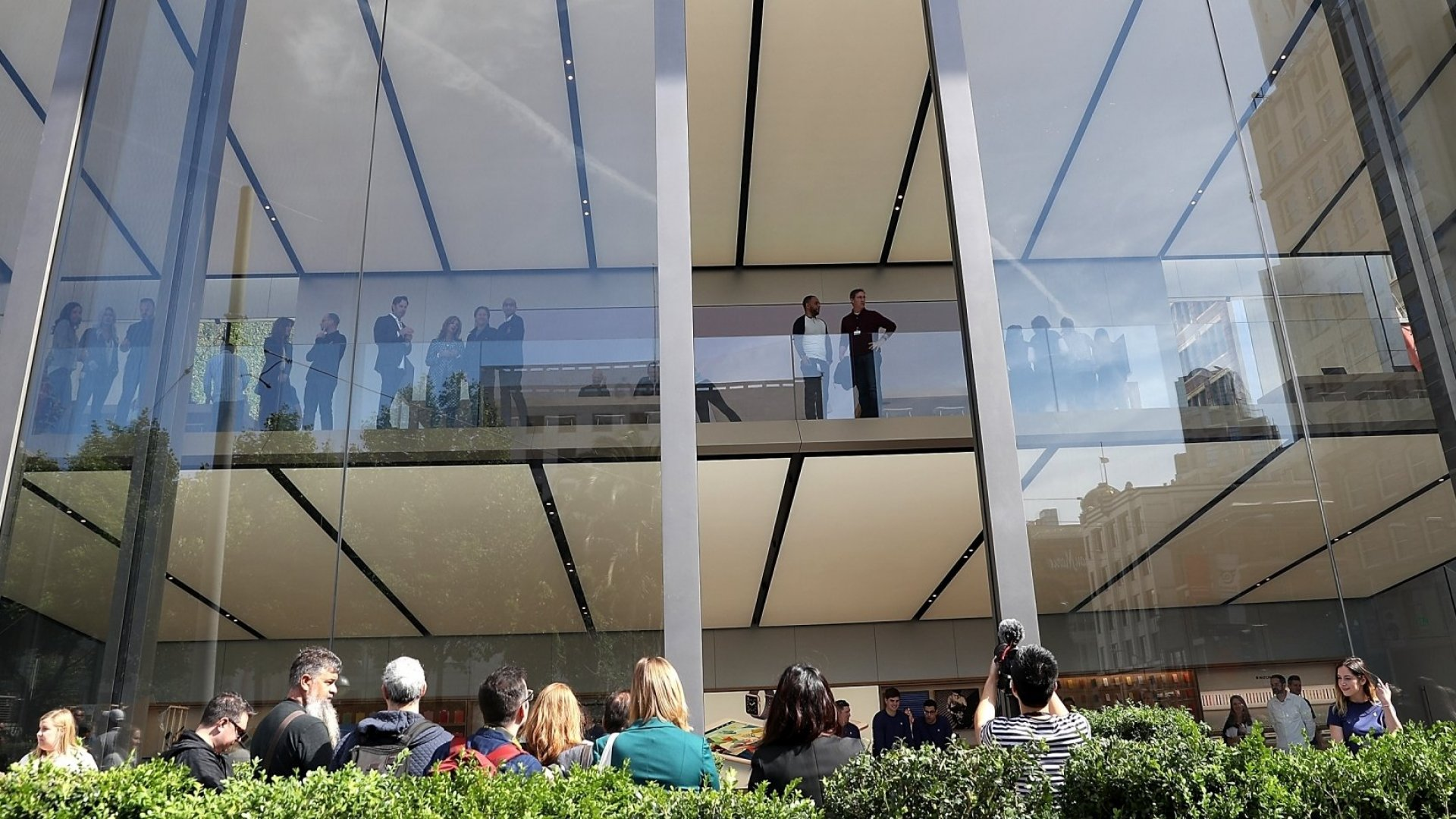 Why Apple's New Store Design Looks Like the Future of Retail