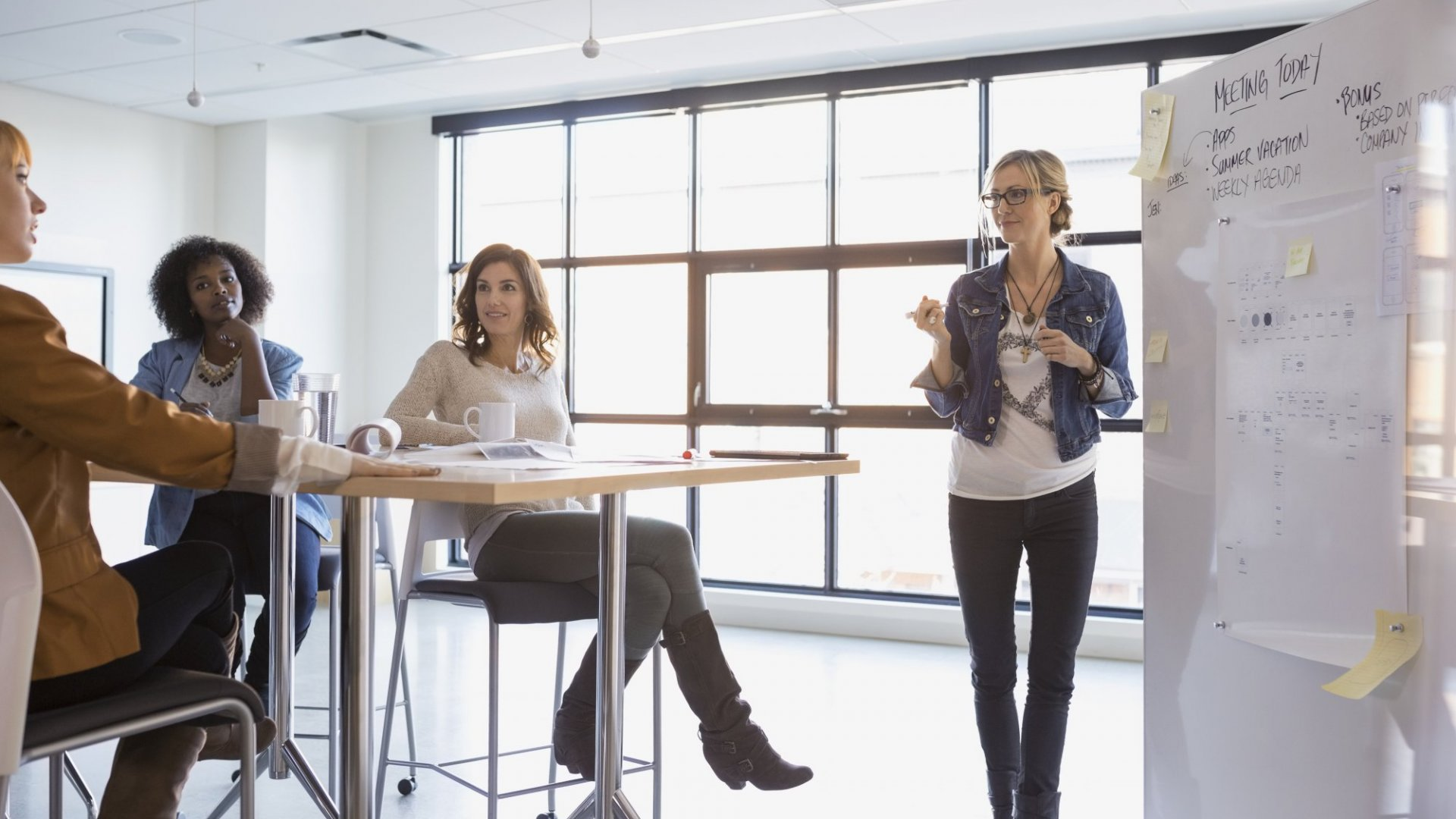 Why Good Office Design Can Help Crack the Glass Ceiling
