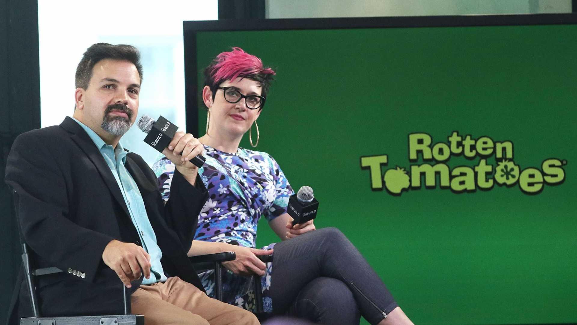 Rotten Tomatoes' former Editor-in-Chief Matt Atchity & current Senior Editor Grae Drake.