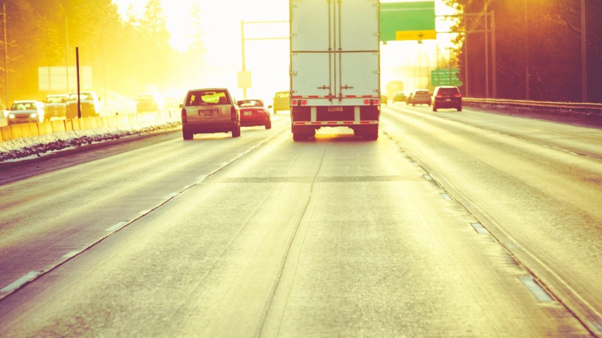 Uber's next stop: long-haul trucking.