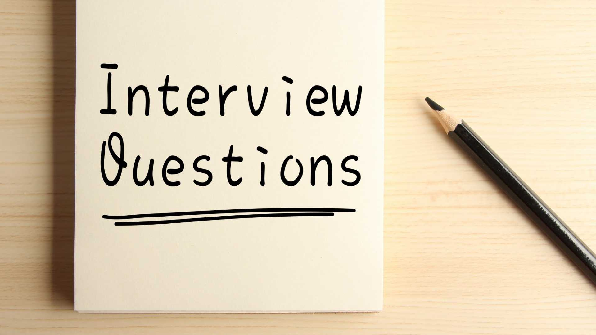 4 Reasons Why You Should Stop Asking Generic Interview Questions