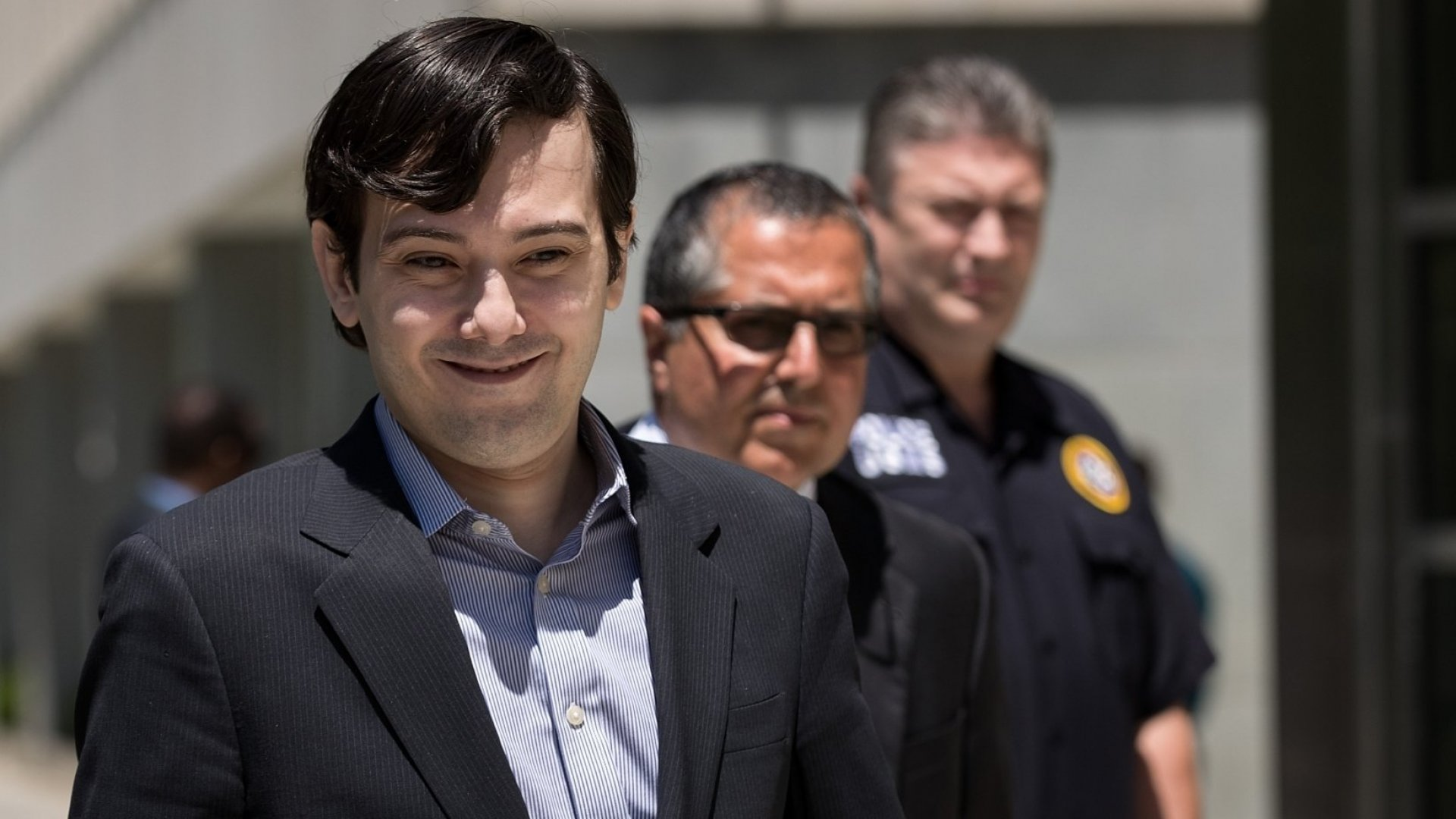 Ex-pharmaceutical executive Martin Shkreli exits the U.S. District Court for the Eastern District of New York, June 6, 2016.