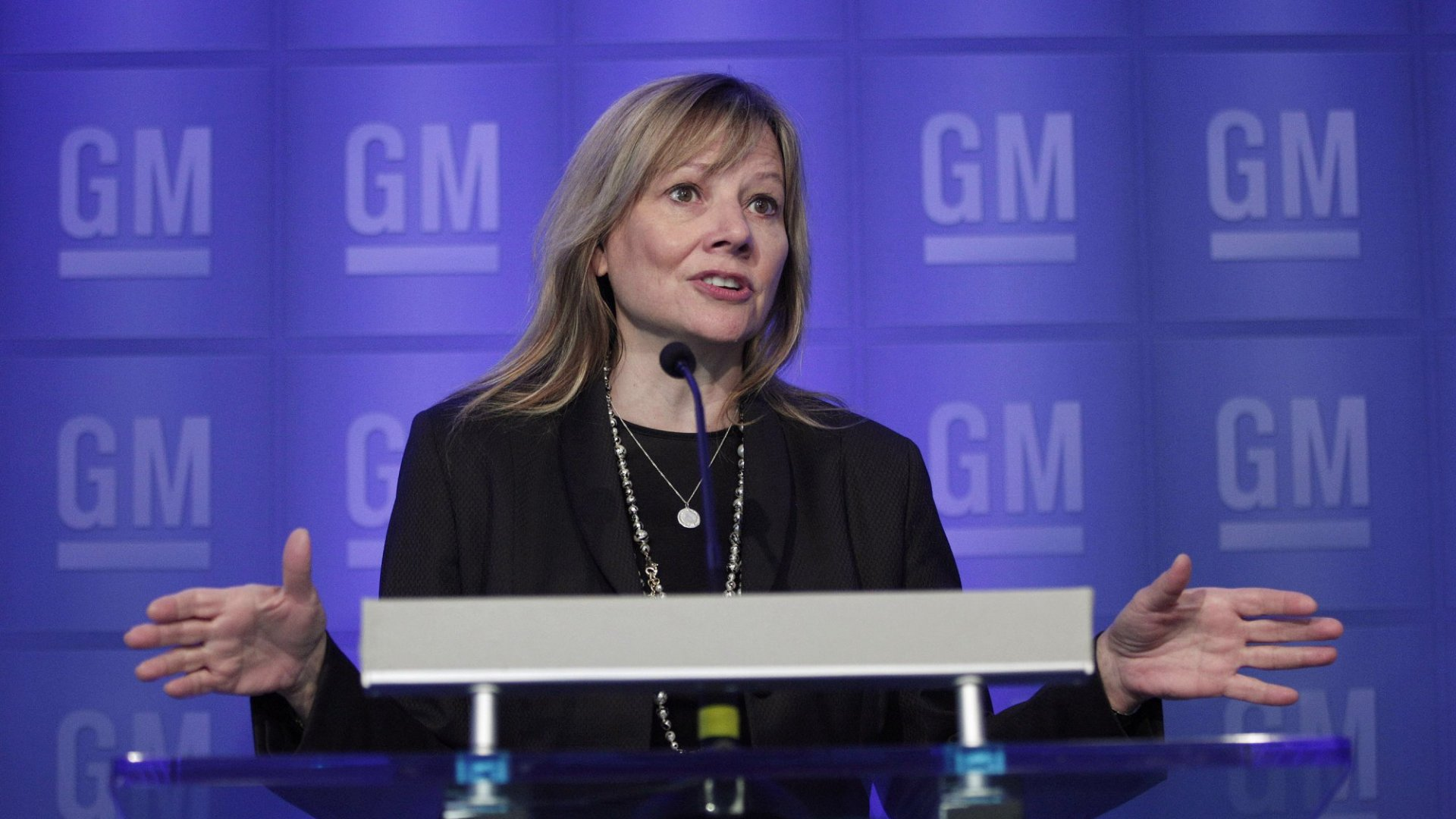 Mary Barra, Chairman and CEO of General Motors.