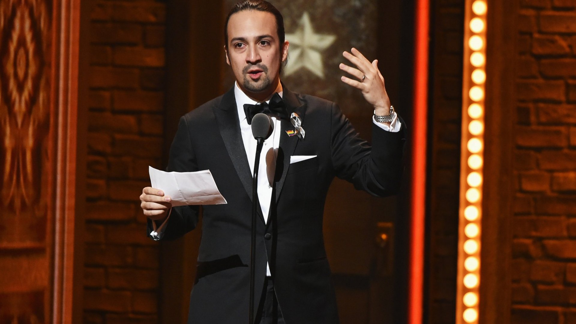 What Leaders Can Learn From Lin-Manuel Miranda's Moving Tony Acceptance Speech