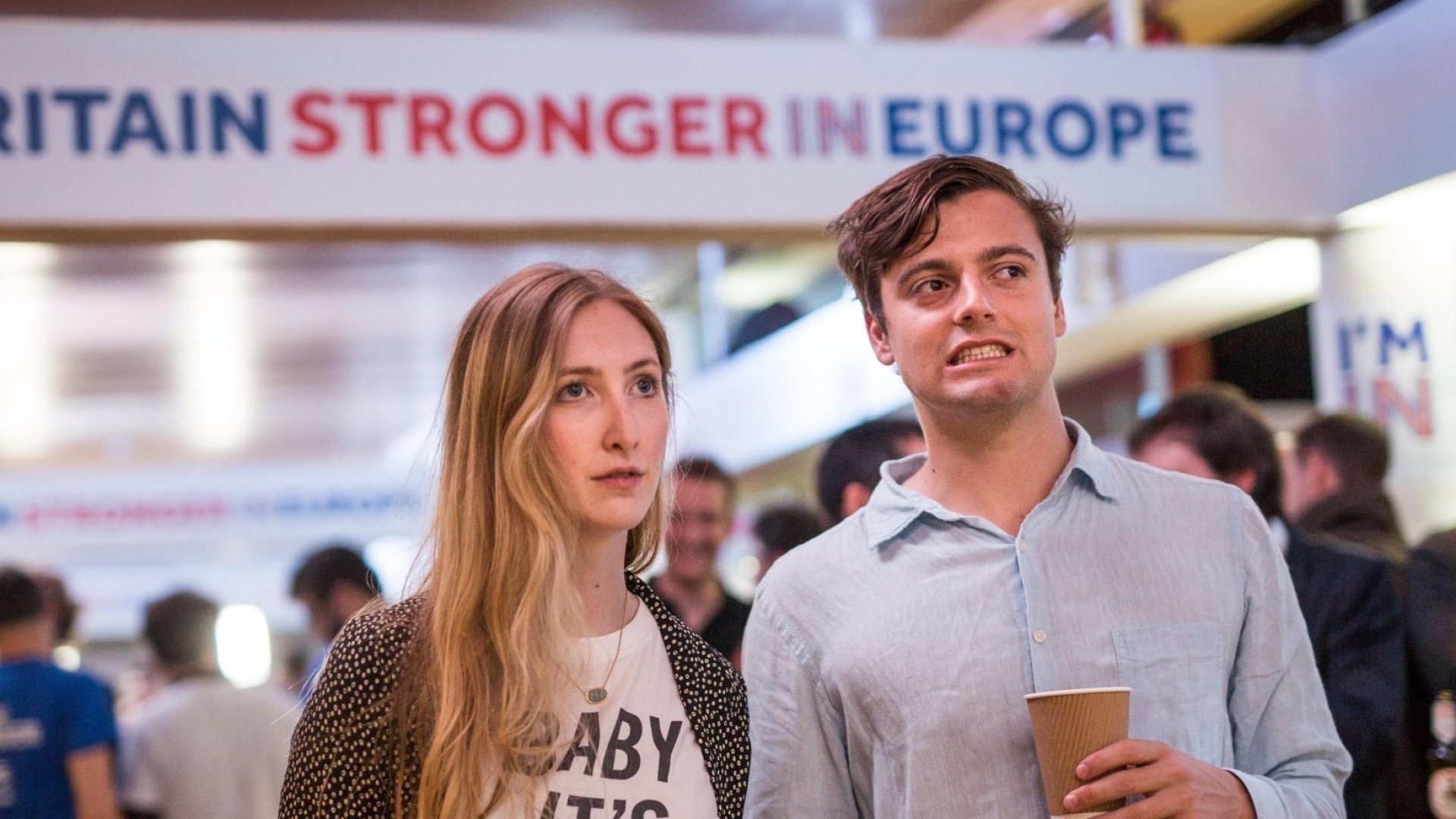 Disappointed voters watch results of Thursday's Brexit Referendum. They may get another chance.