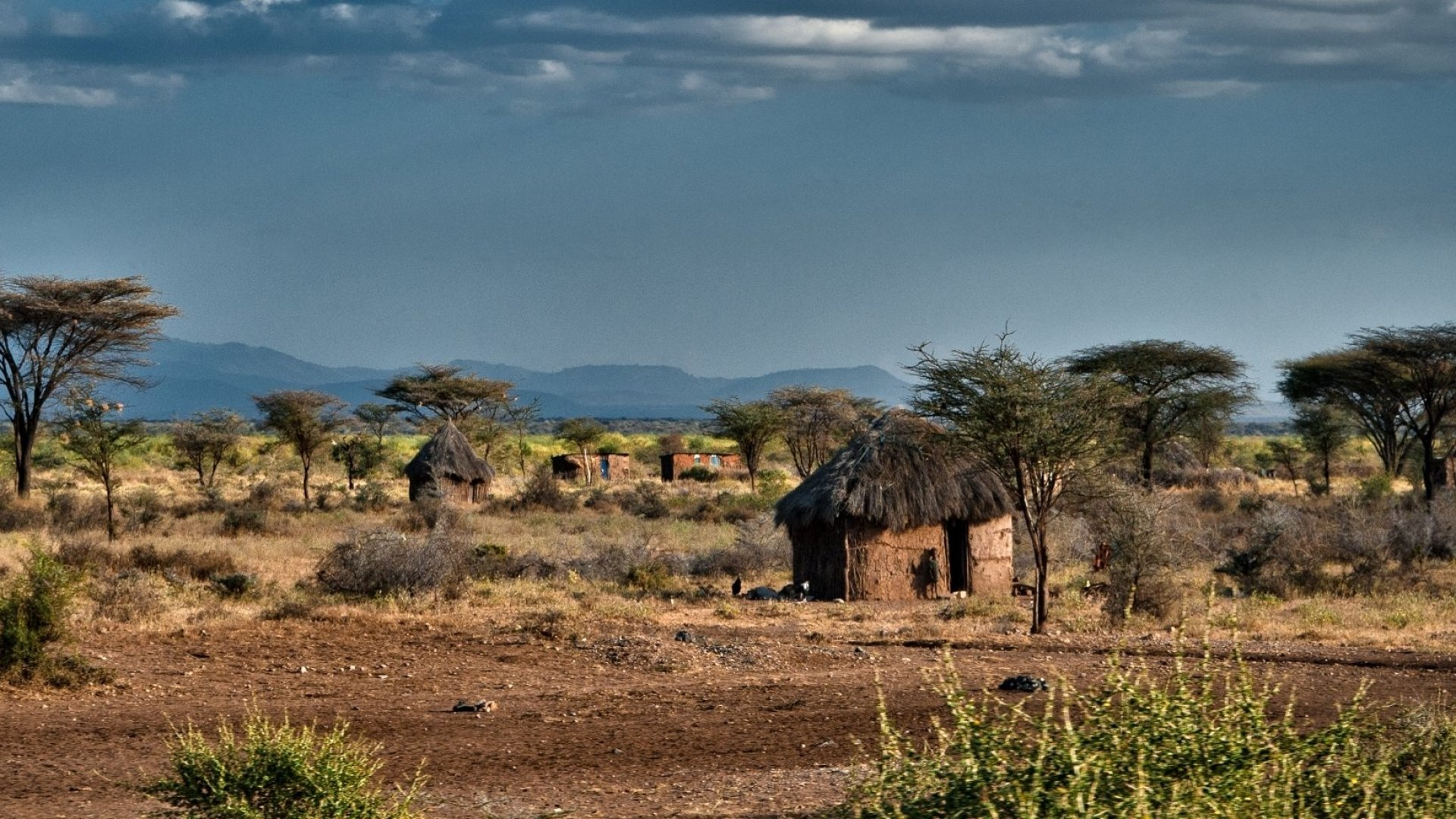 A Kenyan village. GiveDirectly's study will provide cash to more than 17,000 impoverished residents.