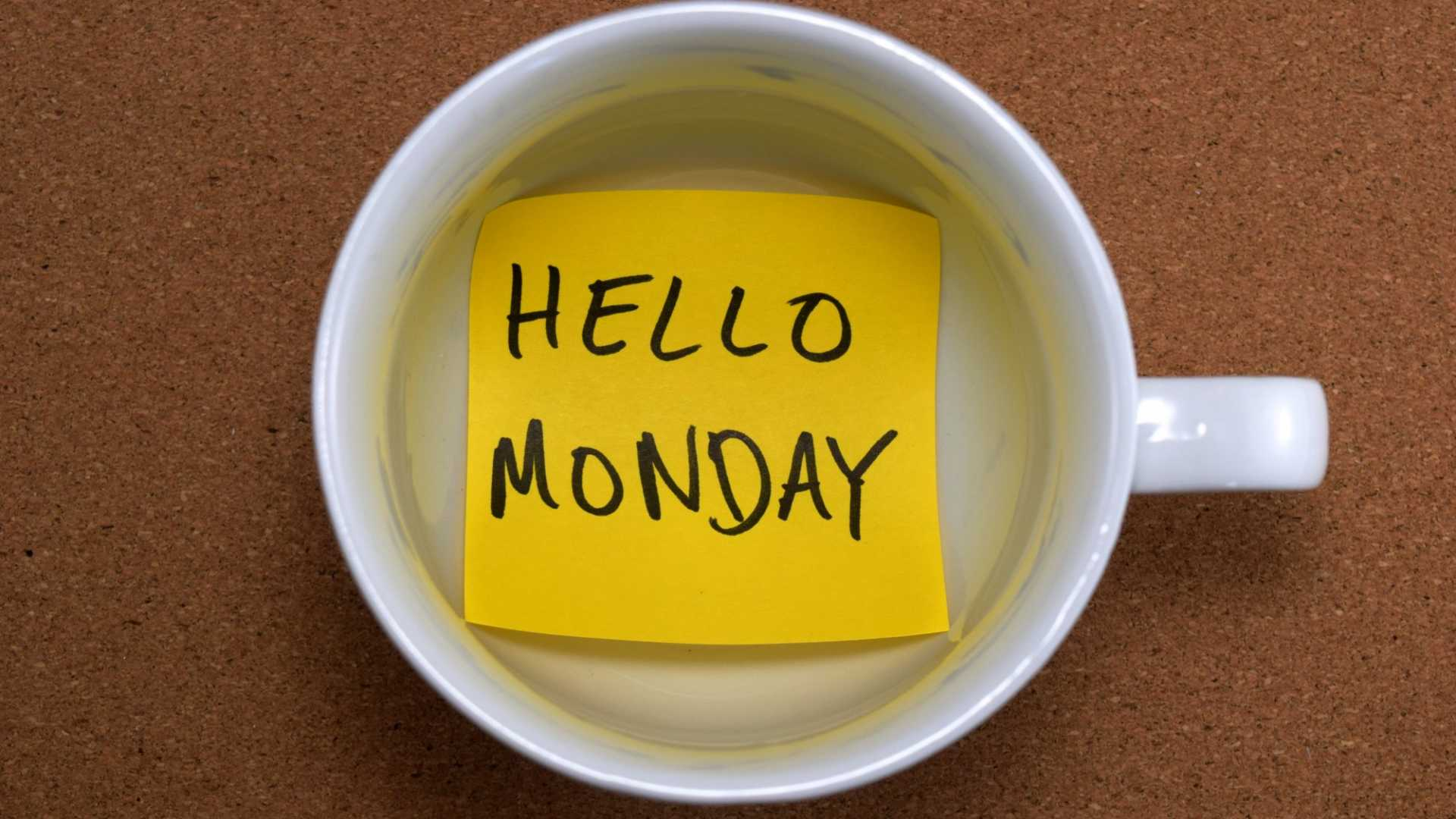 6 Habits That Will Make Your Mondays So Much Easier
