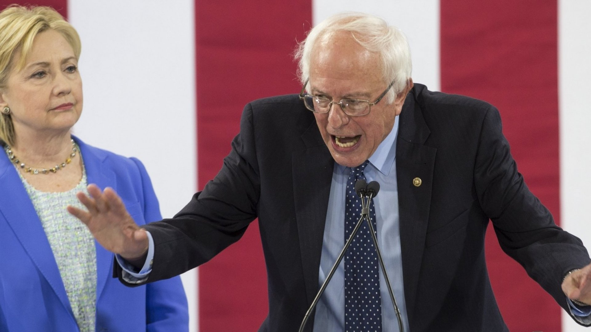 4 Leadership Lessons You Can Learn From Bernie Sanders's Endorsement of Hillary Clinton