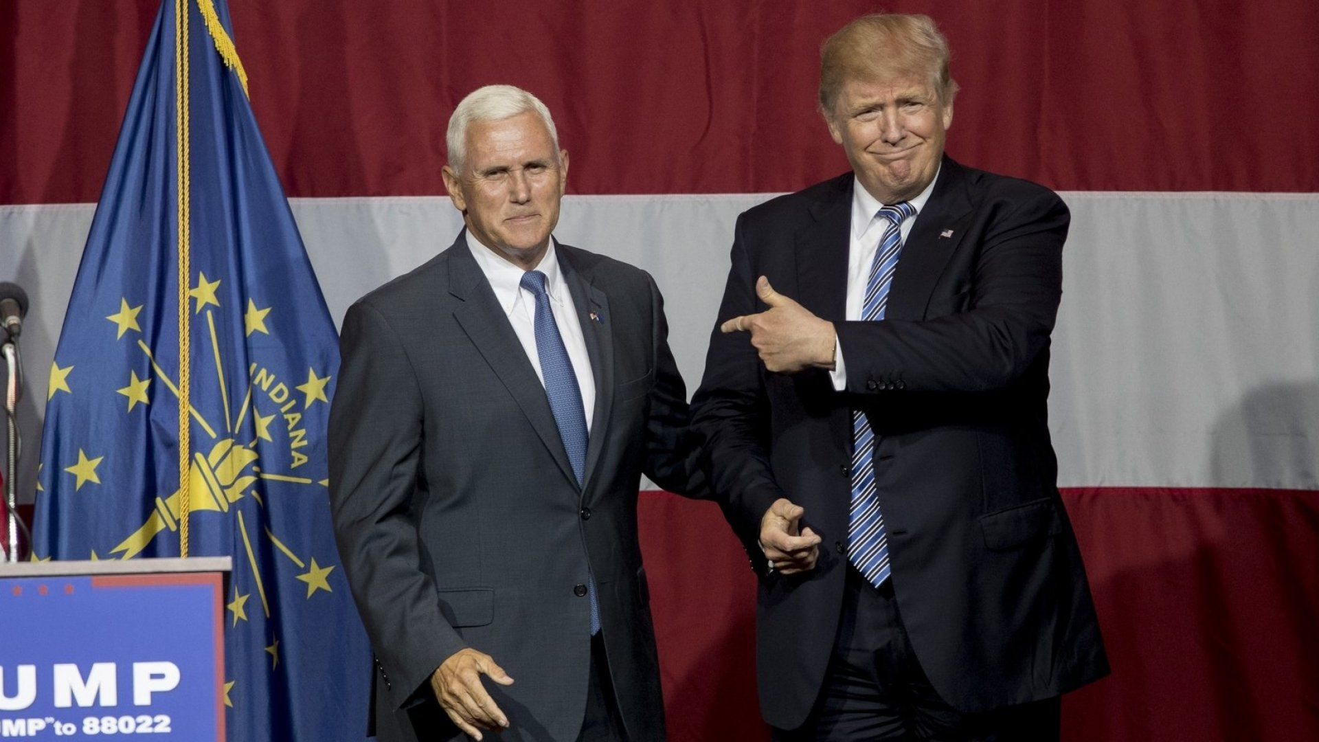 How Business And Tech Reacted to Trump Choosing Governor Michael Pence