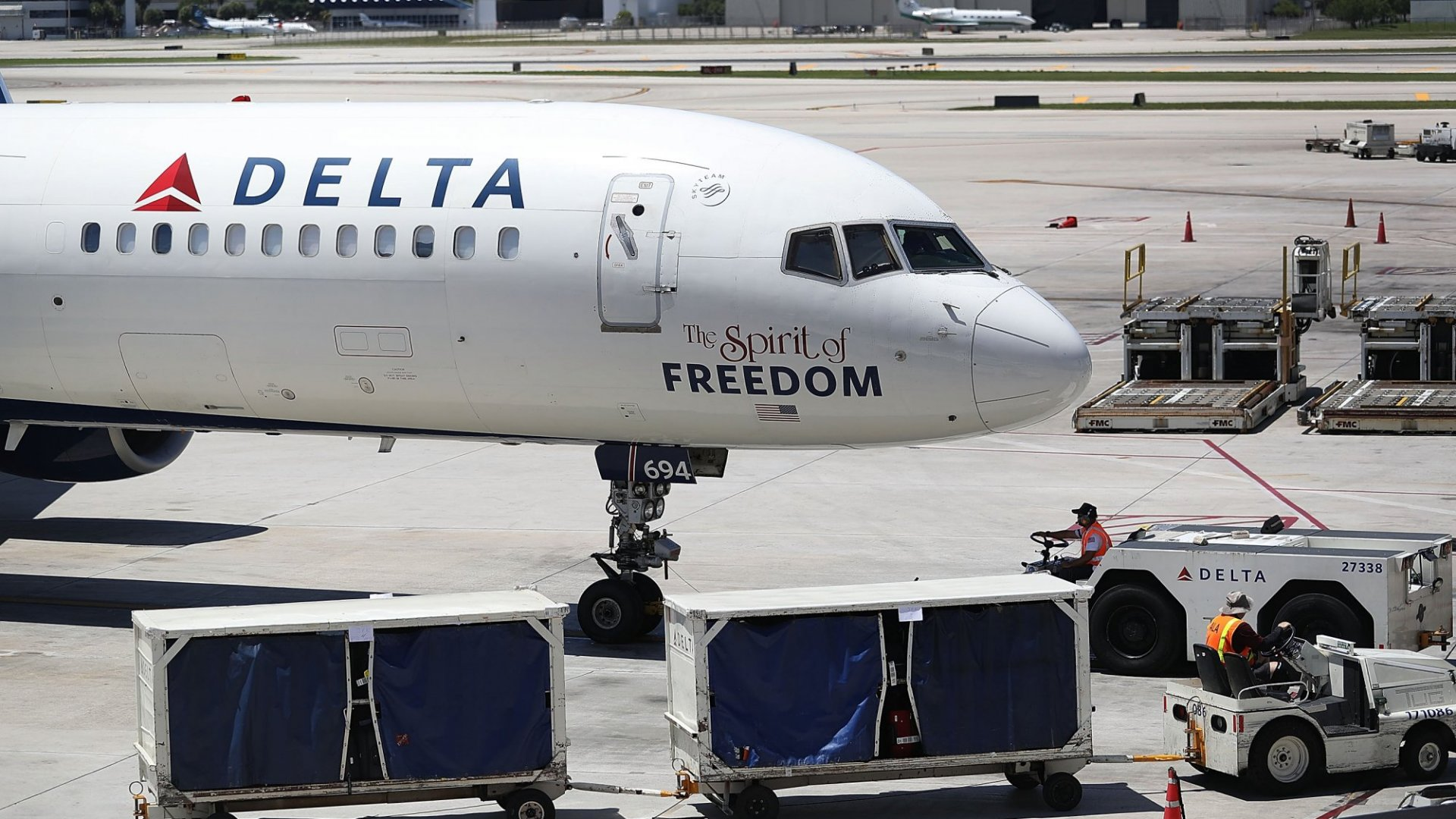 The Spirit of Freedom? Is that what Delta passengers feel?