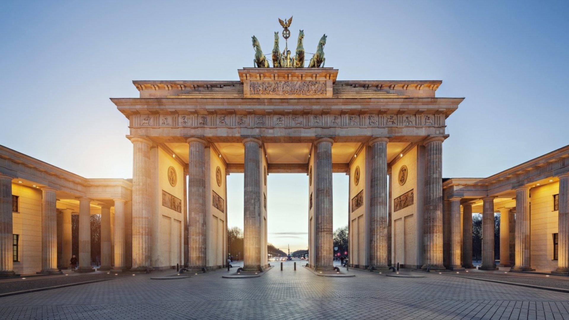 Berlin's Brandenburg Gate.