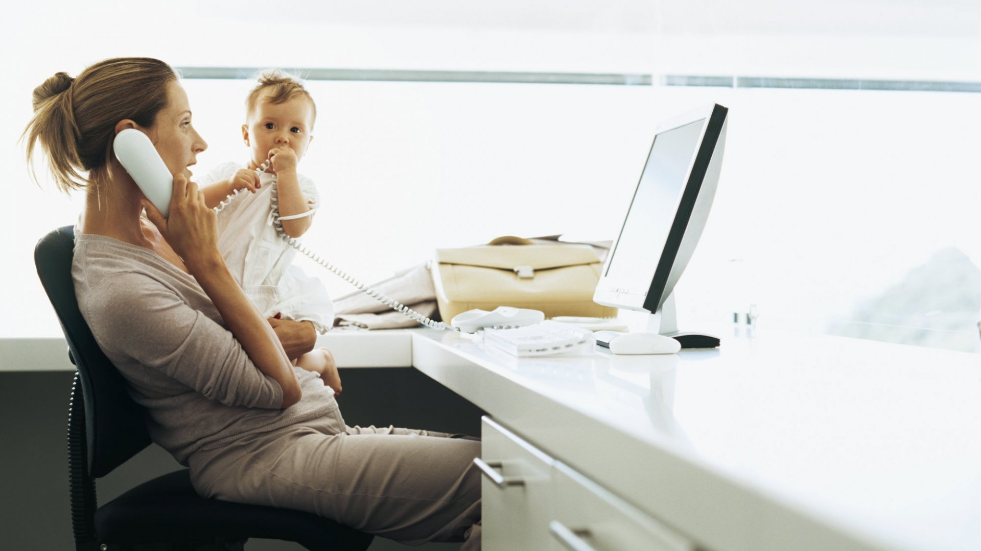 The Real Benefit of Bring Your Kids to Work Day: They'll See Mom Fight