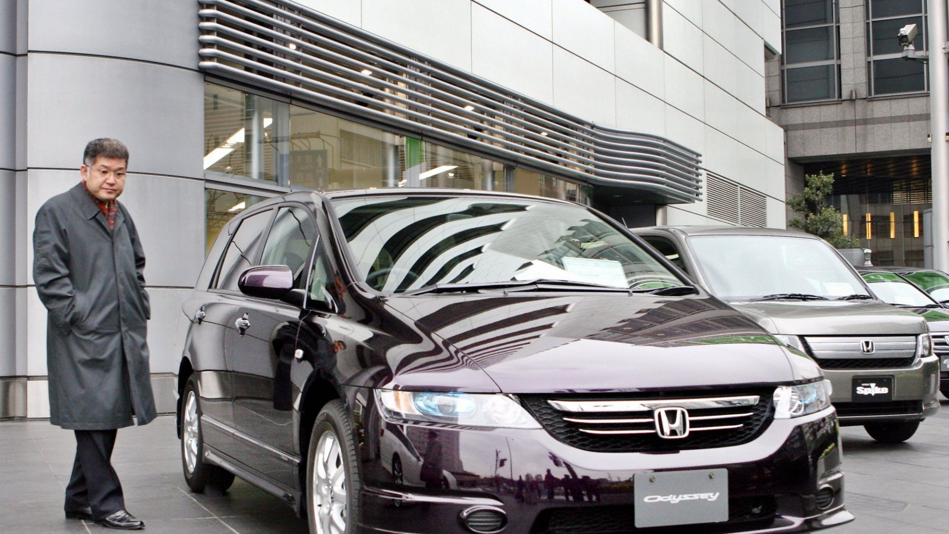 Honda's Sayama plant in Japan, which makes the Odyssey mini van and other models, shut down for a day this week after factory computers were hit by the virus.