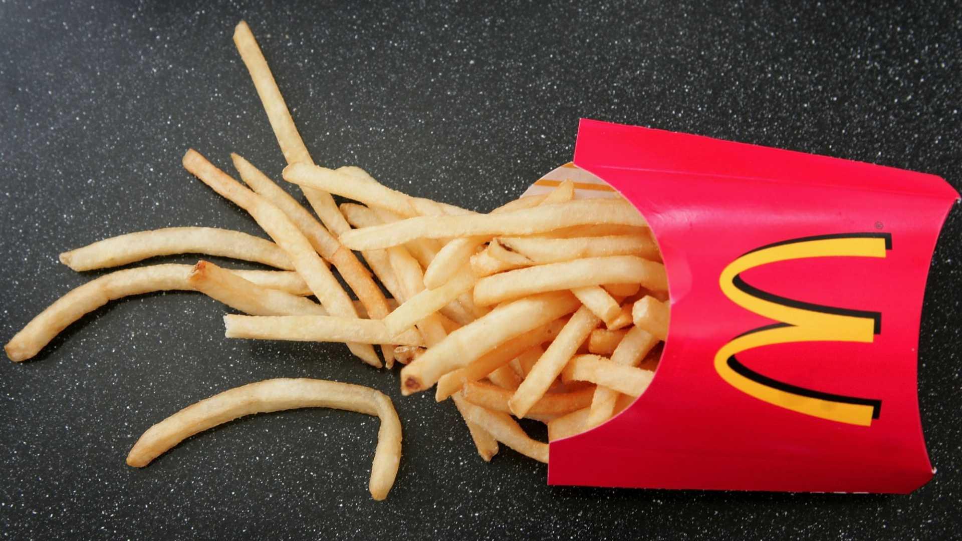 McDonald's has been posting historic low numbers.