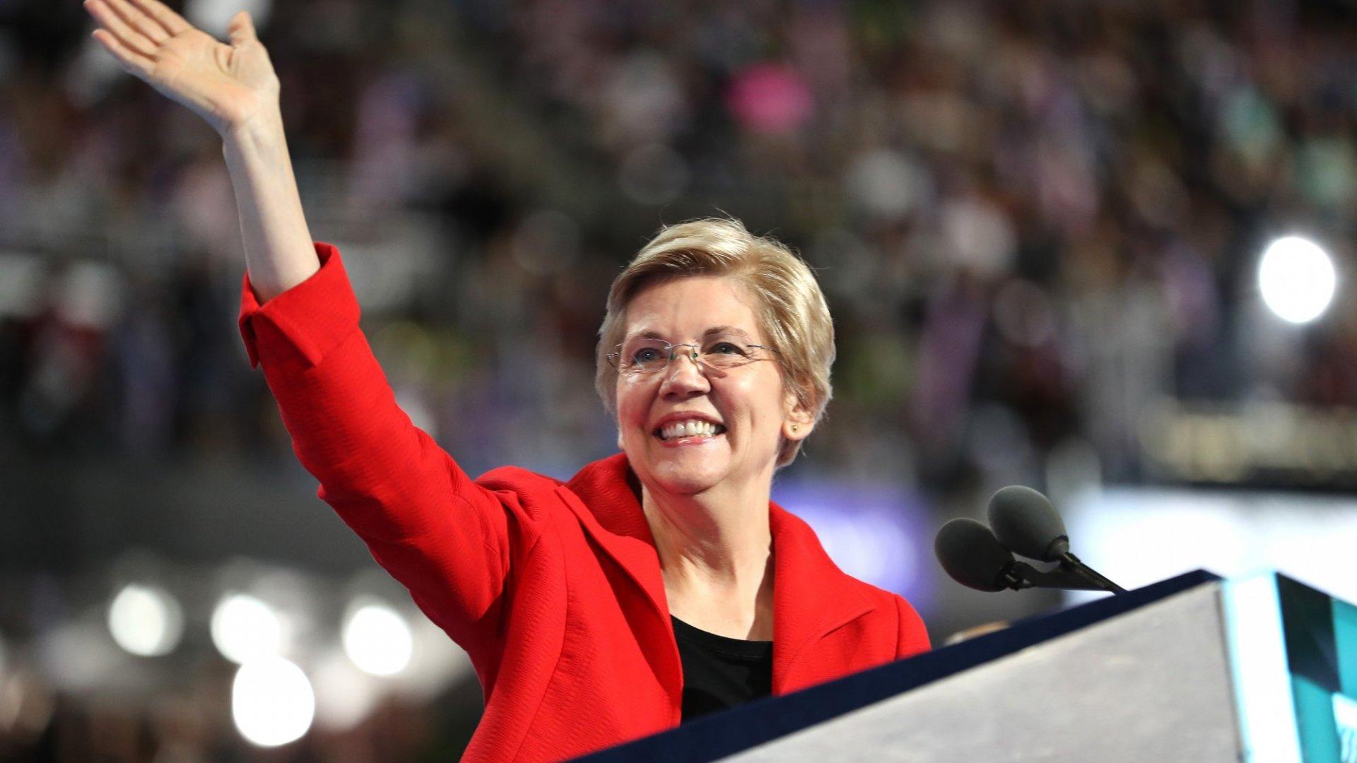 Elizabeth Warren's 3 Tips for the Next Generation of Business Leaders