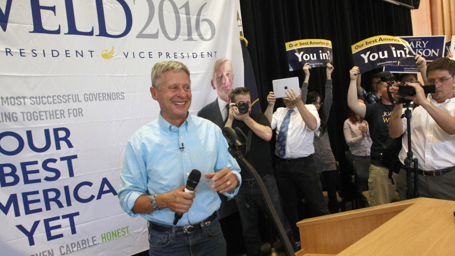 For America's Sake, Let Gary Johnson Debate