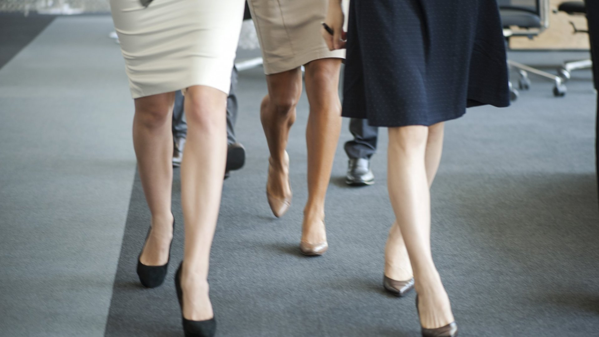 These Men in Skirts and Dresses Protested Workplace Dress Codes. Lo and Behold, They Won