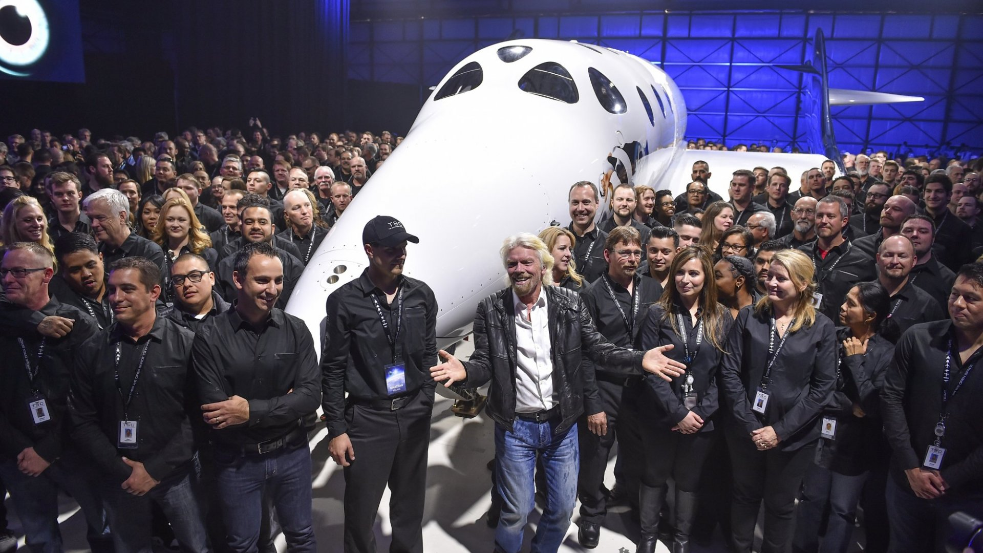 The Way Richard Branson Celebrated Virgin Galactic's First Space Flight Reveals His Secret to Motivating Teams