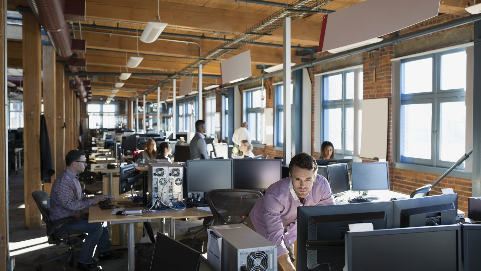 New Harvard Study: Your Open-Plan Office Is Making Your Team Less Collaborative