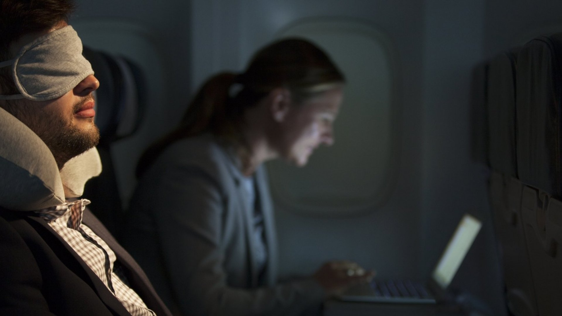 Never Able to Sleep on That Redeye Flight? Here Are 5 Tips to Finally Change That