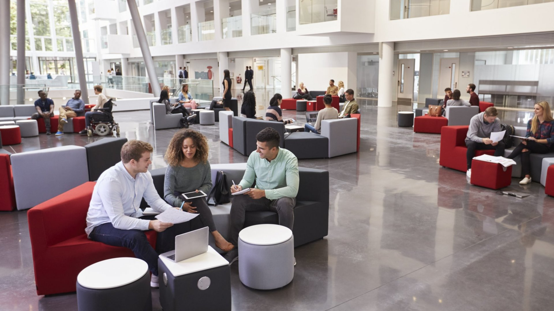 A Year-Long Study Says Recent Graduates Want Offices Designed Like This