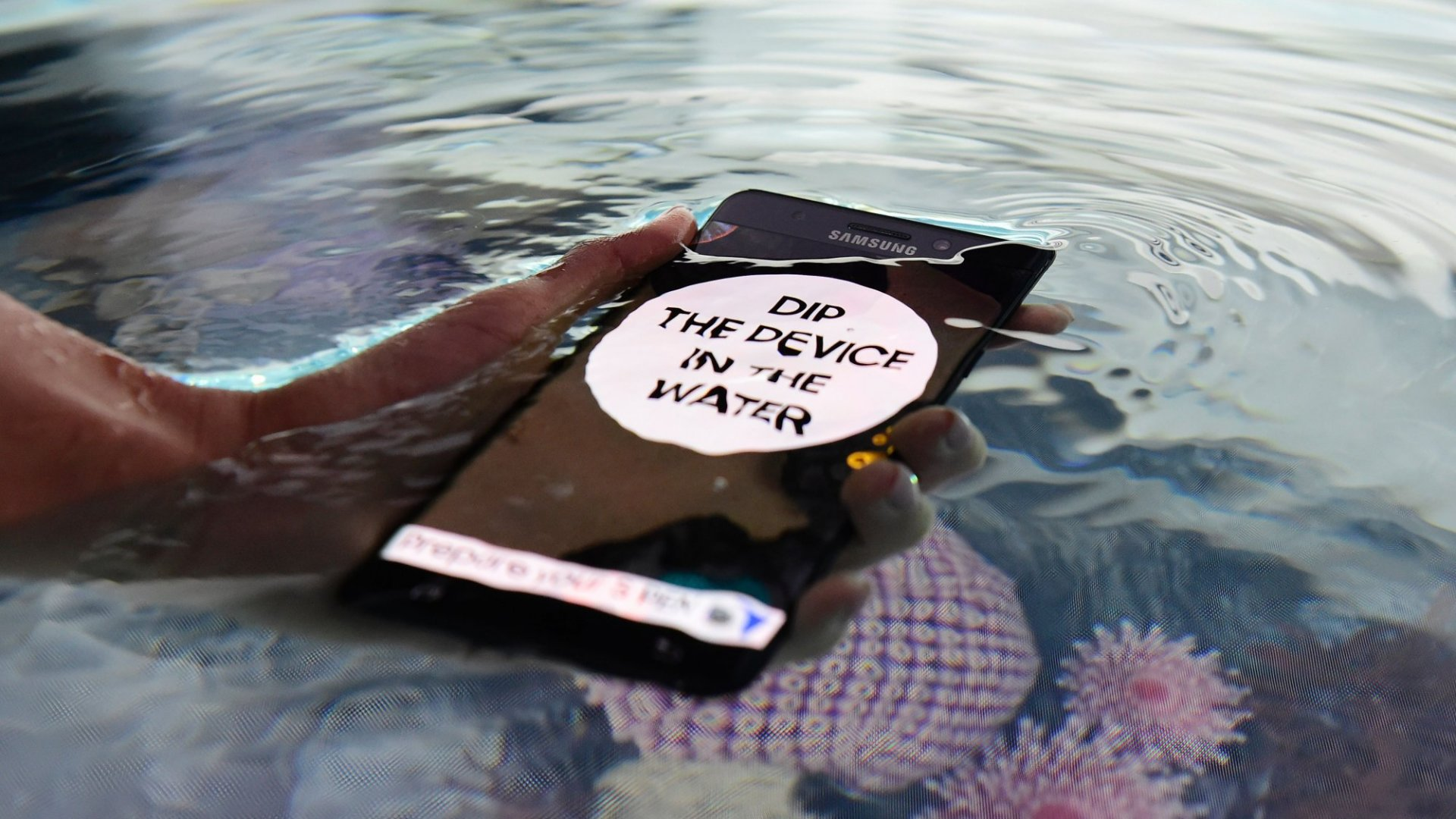 Samsung Phones Aren't as Waterproof as Ads Make Them Appear, Australian Government Says