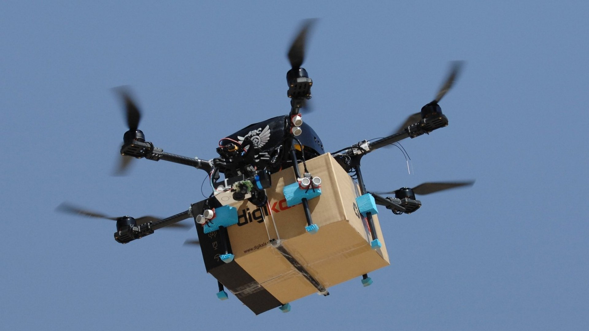Amazon Files Patent for Airborne Warehouses