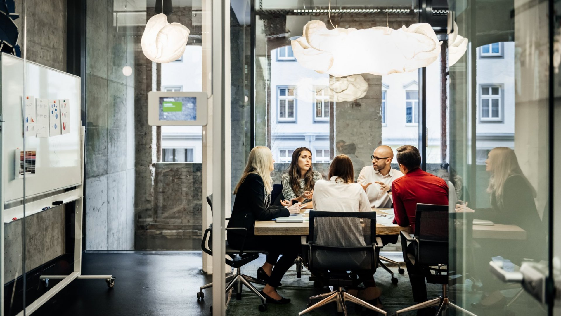 Does your office have more than one generation under its roof?