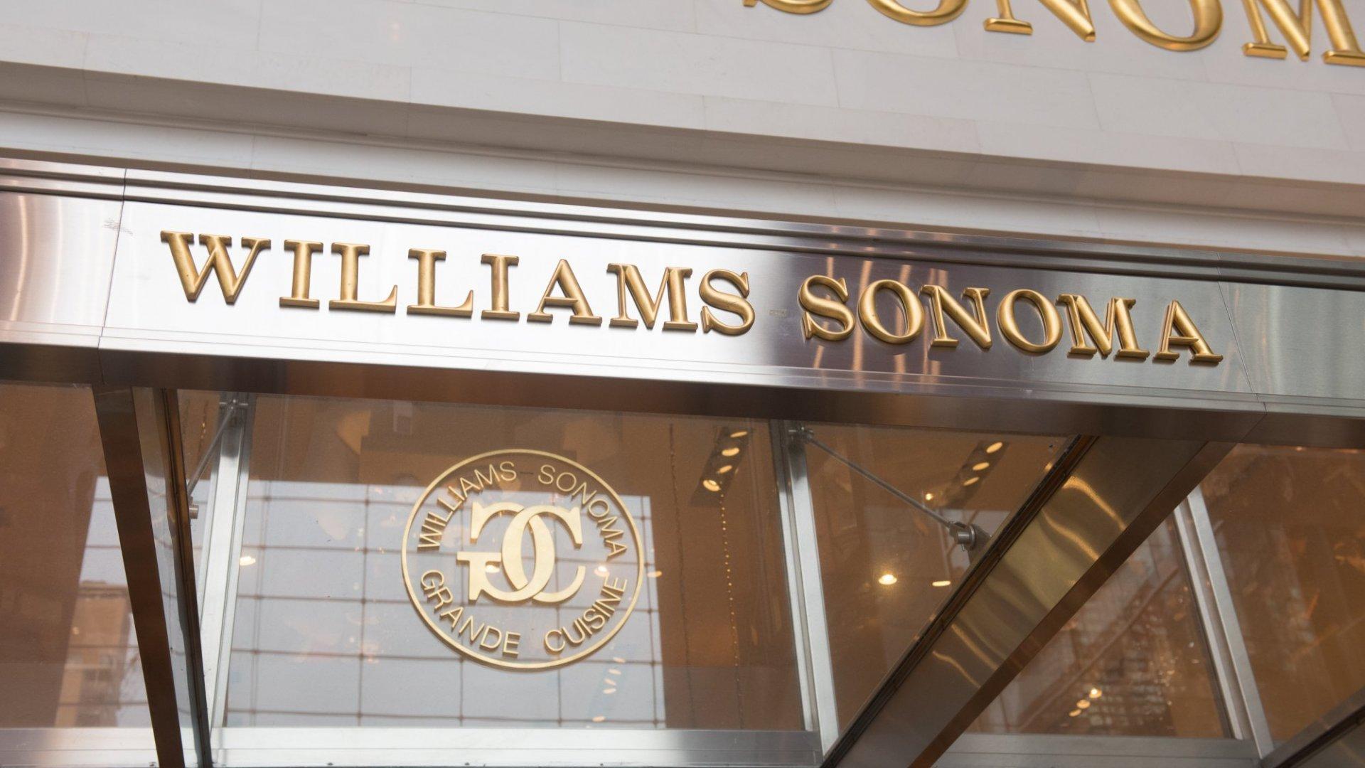 Williams-Sonoma Enters Meal-Kit Market