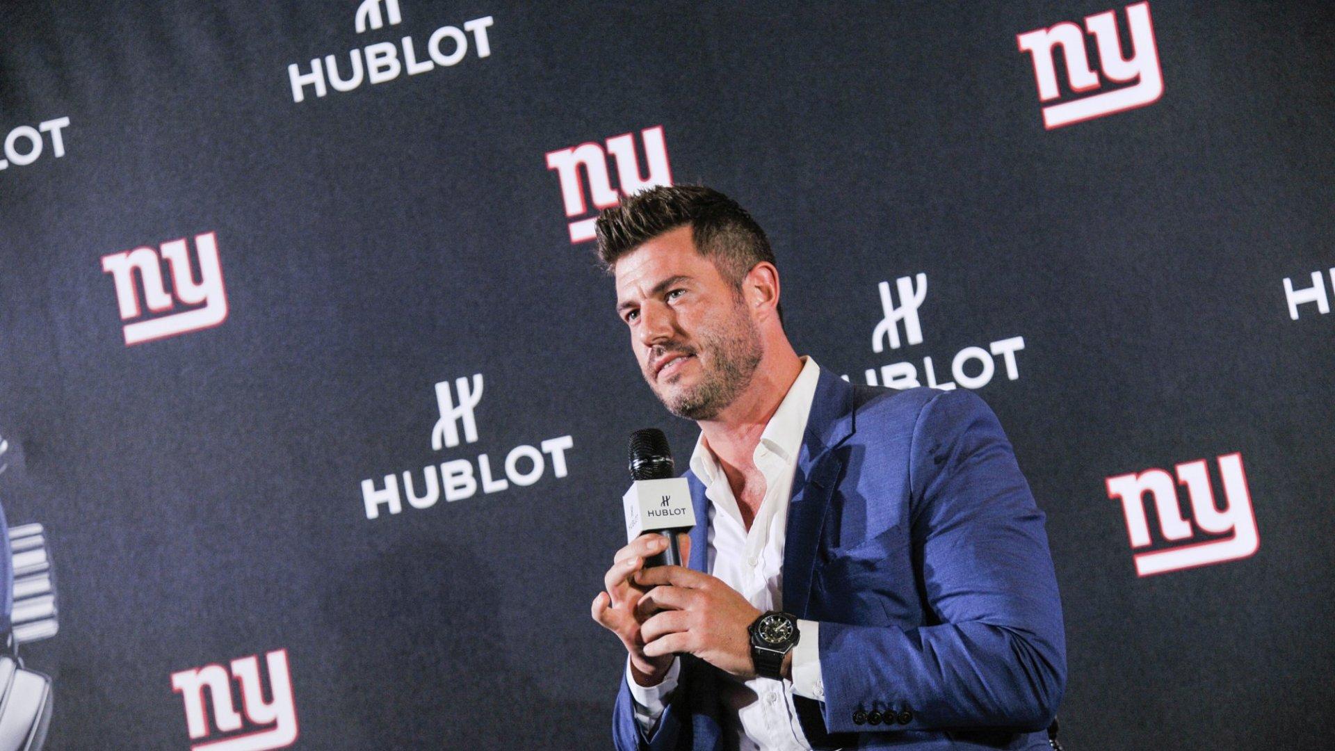 Former quarterback Jesse Palmer is providing a path for future athletes.