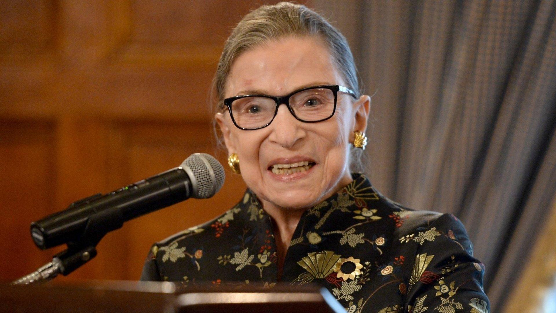 17 Powerfully Inspiring Quotes From Ruth Bader Ginsburg
