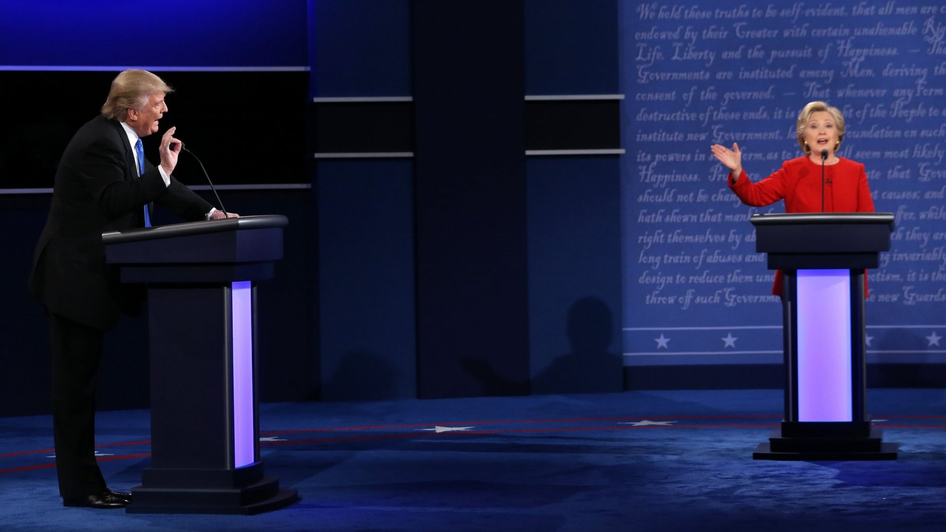 The Parts of the Presidential Debate That Drove Steve Case, Shonda Rhimes, and Marcus Lemonis Kind Of Crazy