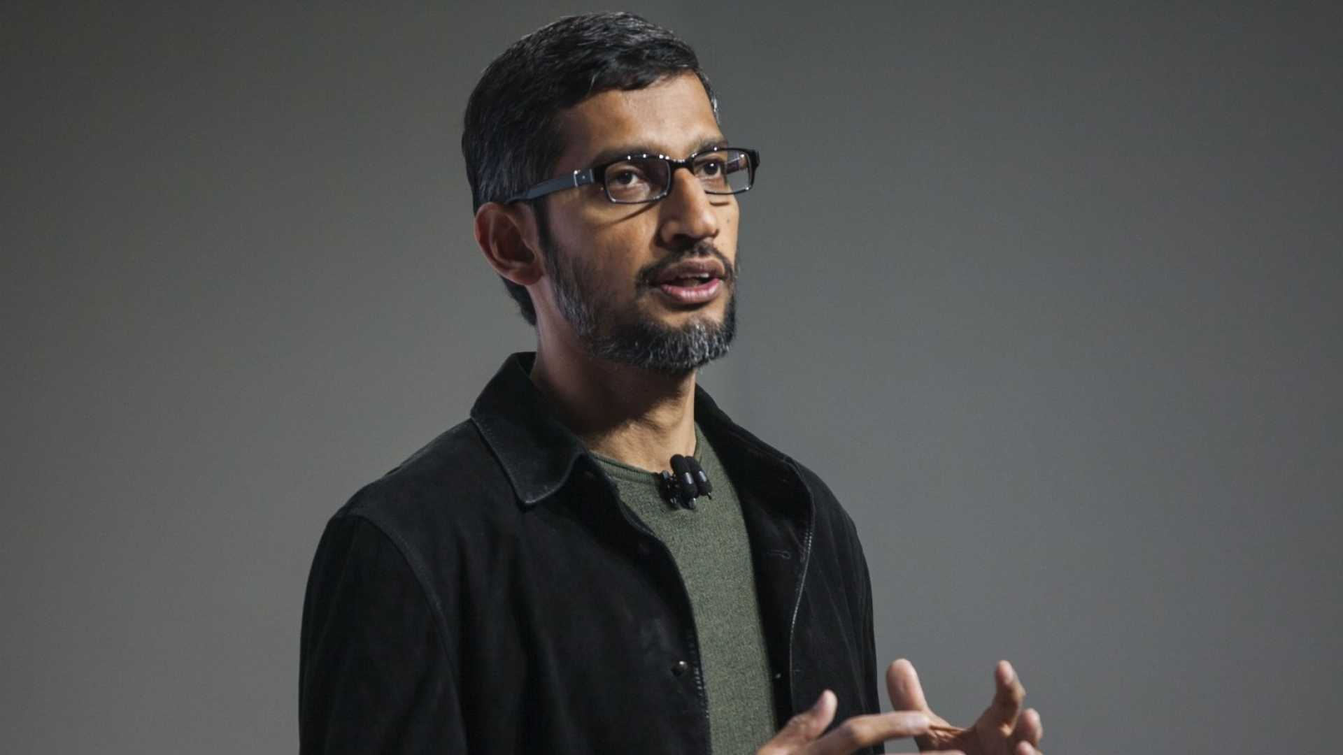 Bad News at Google. Here's How Sundar Pichai Explained It