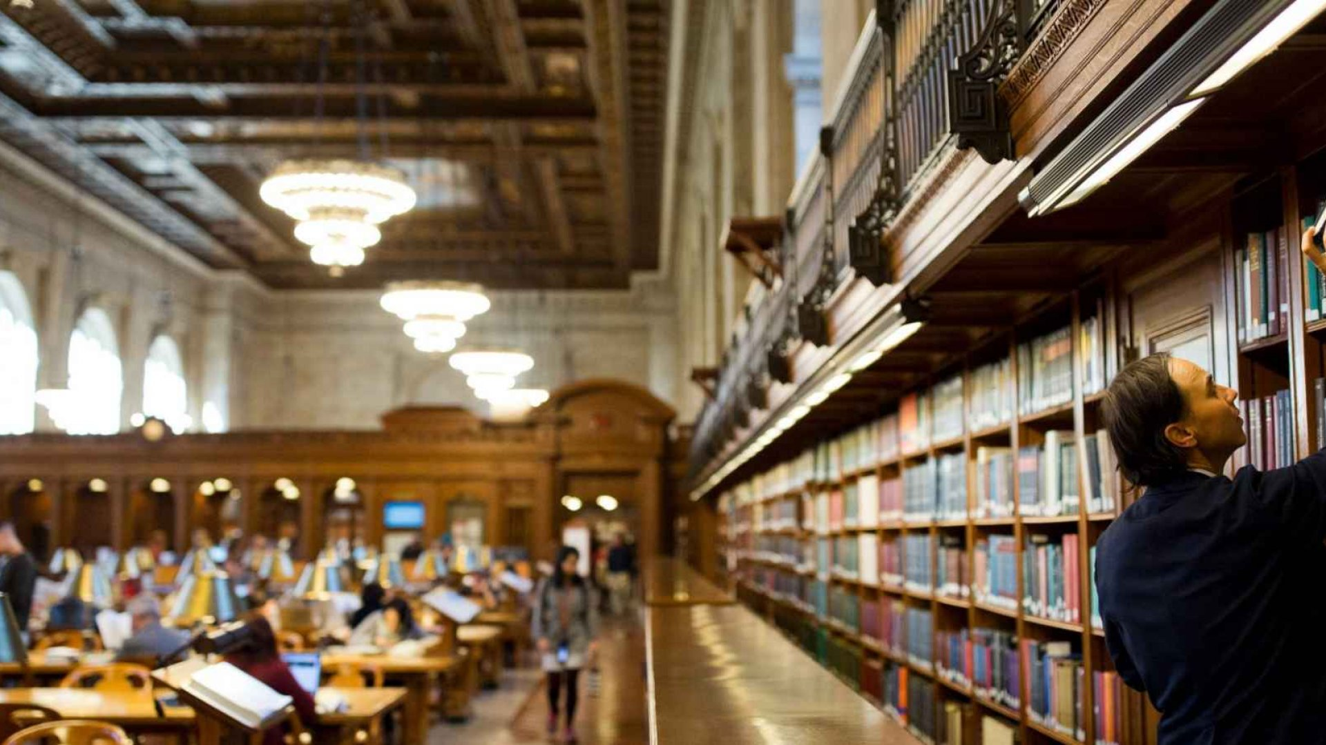 The New York Public Library's Newly Renovated Reading Room Is the Coolest Thing You'll See Today
