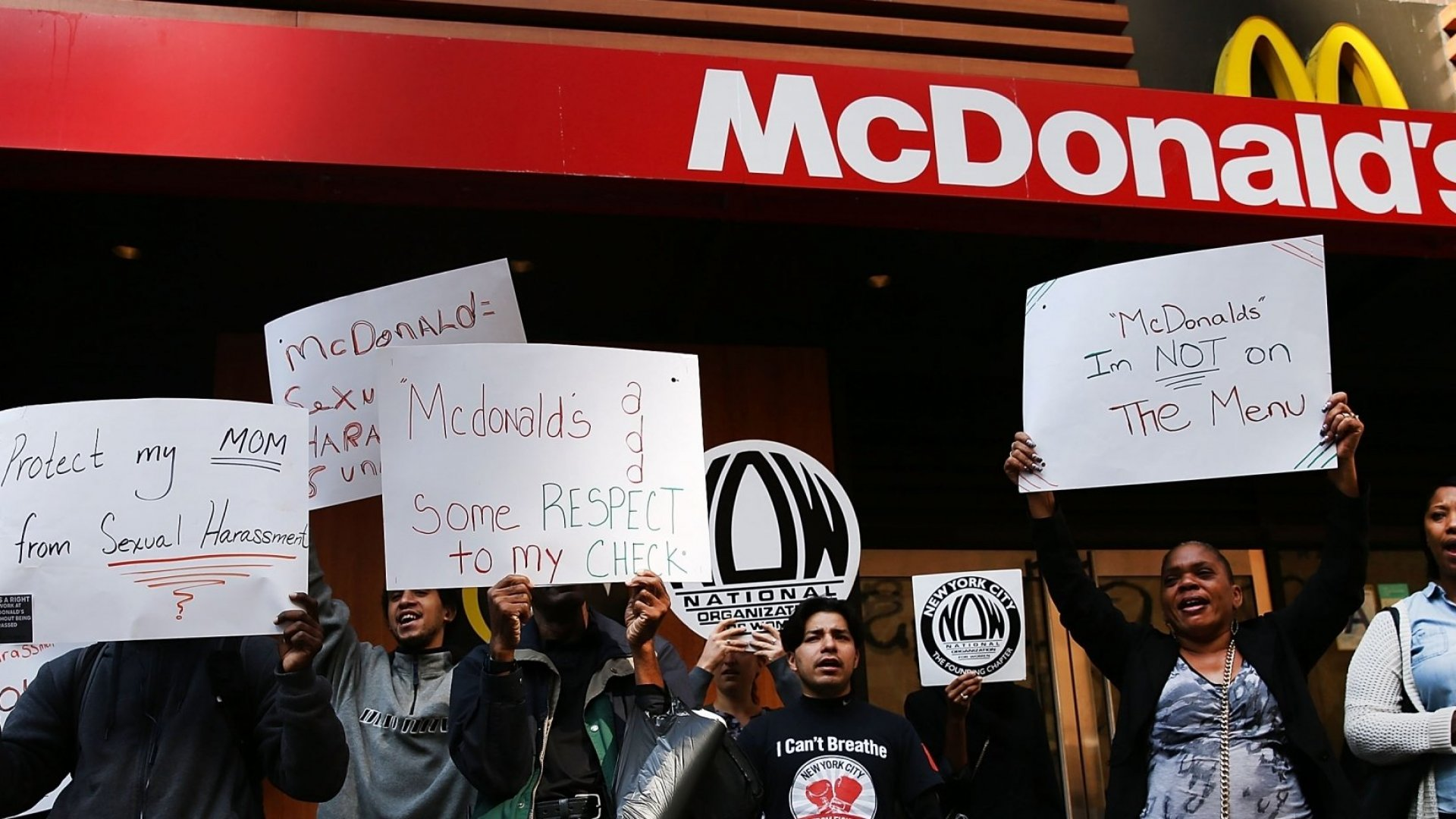 McDonald's Employees in 10 Cities Are Striking Next Week. It Has Nothing to Do With Wages or Hours