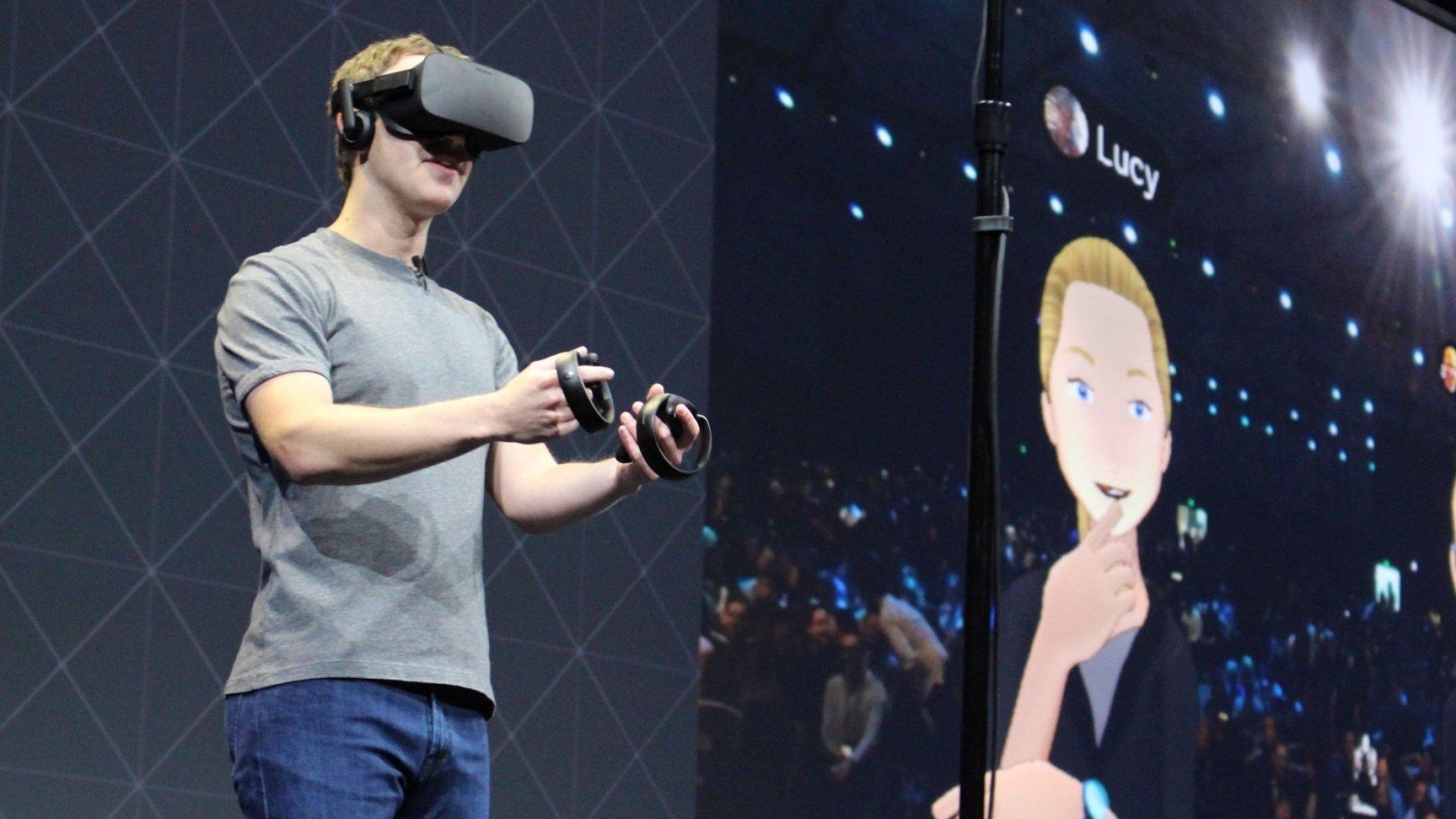 Facebook Employees Show Mark Zuckerberg New Product Ideas