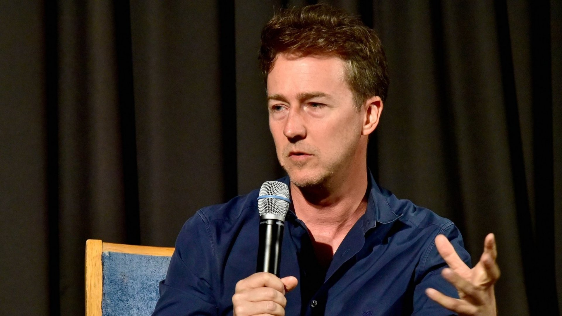 Actor Edward Norton Talks Running aCrowdfunding Business and Being Raised by Entrepreneurs