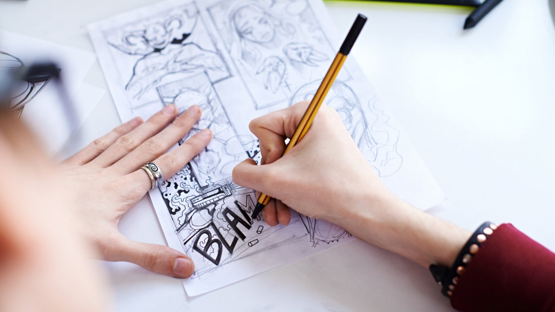 Want to Turn Your Comic Book Idea Into a Million-Dollar Business? Here's the First Step