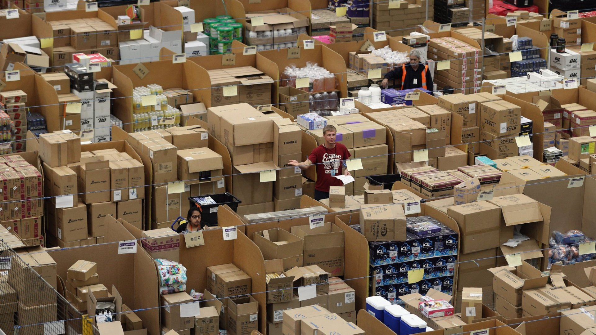 Want to Work for Amazon? The E-Commerce Giant Is Looking for Entrepreneurs
