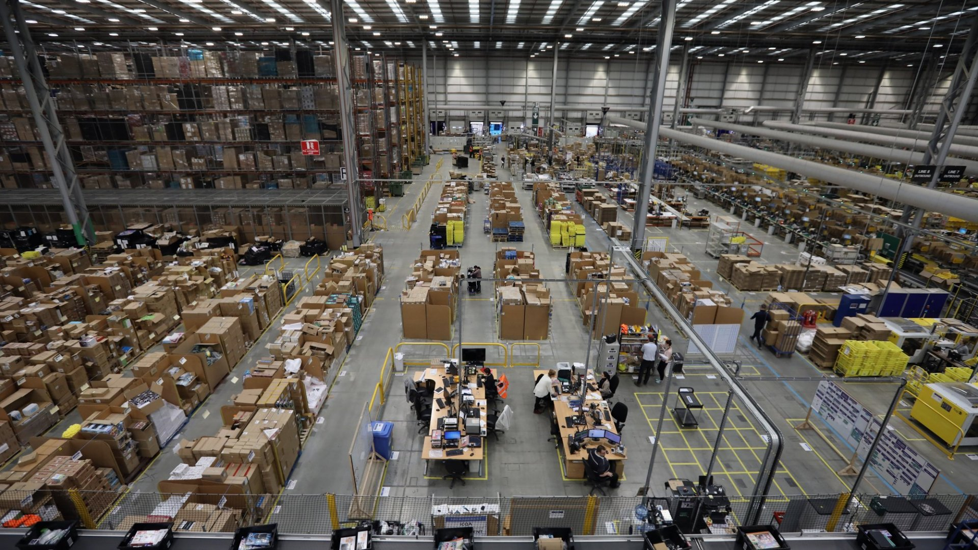 Amazon's Newest Initiative: Spending $700 Million to Retrain 100,000 Workers by 2025