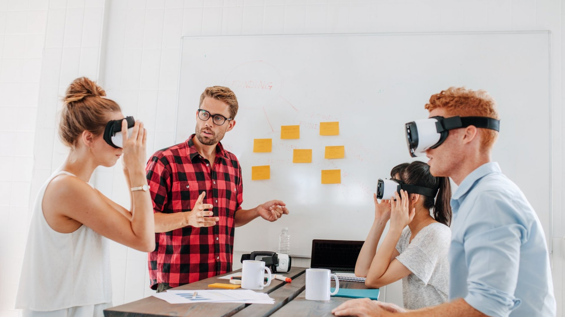 How to Introduce Virtual and Augmented Reality Into Your Workplace