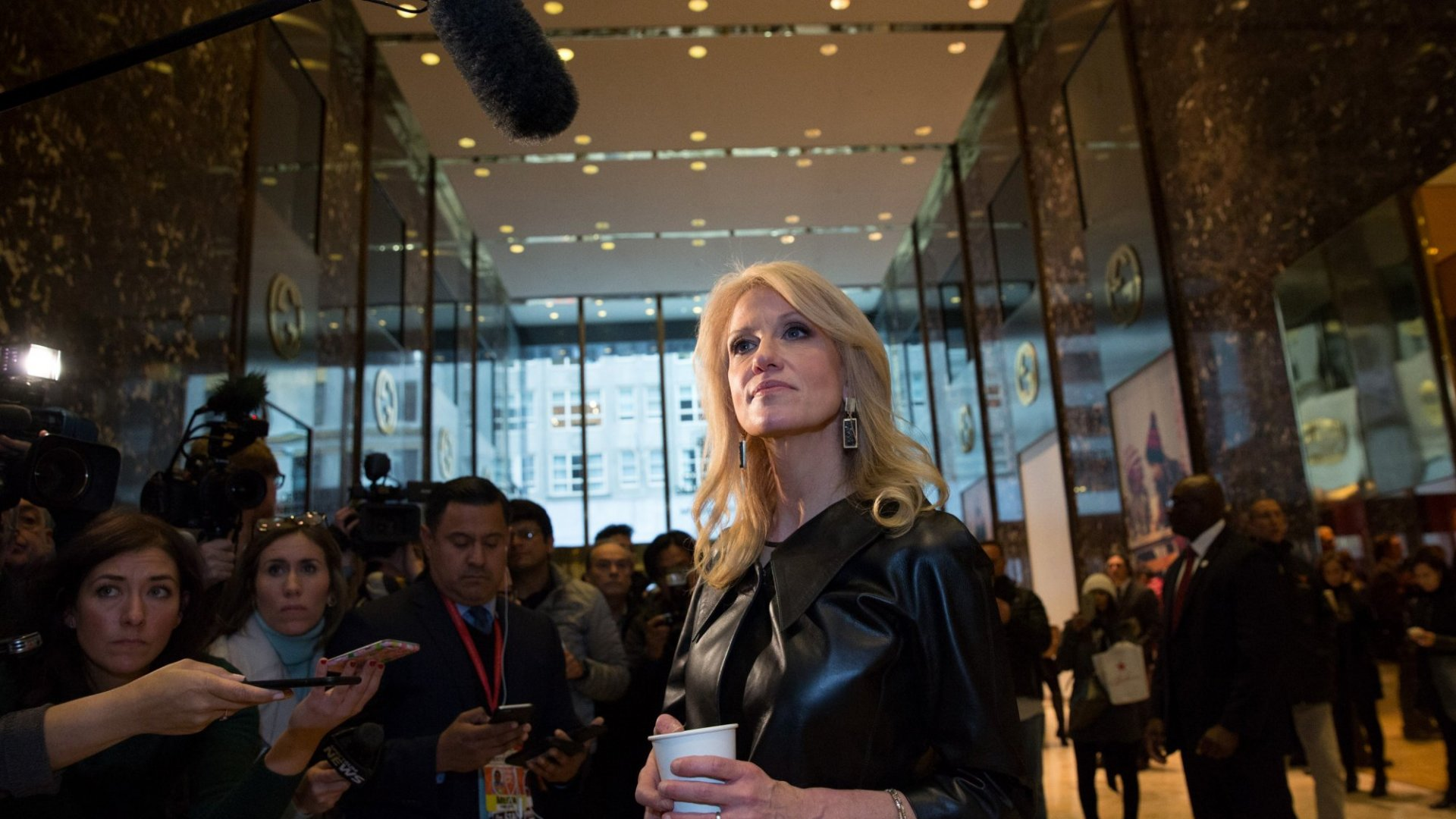 Kellyanne Conway: Men Don't Want Their Wives to Have White House Jobs