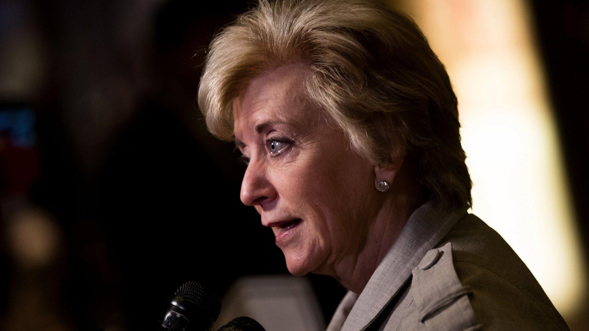 Trump Picks Former Wrestling Executive Linda McMahon to Lead SBA